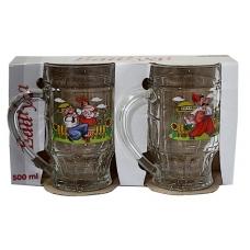 Набір для пива Пинта 2предмети Українська тематика