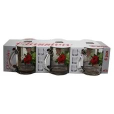 Набір чайних кружок 300мл 6 предметів Букет троянд