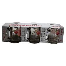 Набір чайних кружок 300мл 6 предметів Орхідея