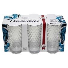 Набір стаканів Кристал Високий 200мл Прозорий