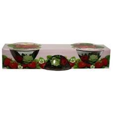 Набір салатників 3предмети Букет троянд