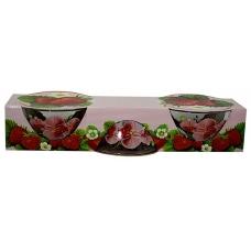 Набір салатників 3предмети Орхідея