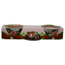 Набір салатників 3предмети Троянда
