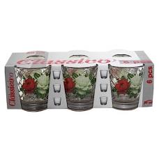 Набір стопок Пенали 50мл Букет троянд