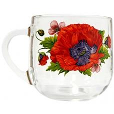 Кружка  Граміне 300мл Цвіт маку
