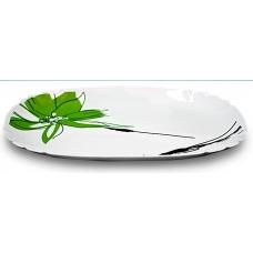 Блюдо овальне 34см Олеандр
