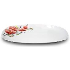 Блюдо овальне 34см Орхідея